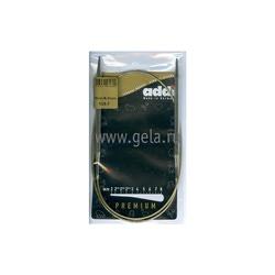 Спицы Addi Круговые супергладкие никелевые 6 мм / 80 см