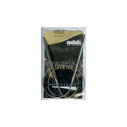 Спицы Addi Круговые супергладкие никелевые 6.5 мм / 80 см