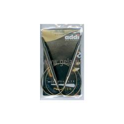 Спицы Addi Круговые супергладкие никелевые 9 мм / 80 см
