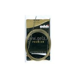 Спицы Addi Круговые супергладкие экстрадлинные никелевые 2 мм / 300 см