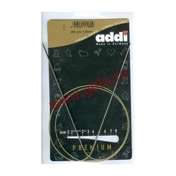 Спицы Addi Круговые супергладкие экстратонкие никелевые 1.5 мм / 100 см