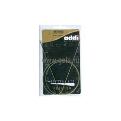 Спицы Addi Круговые супергладкие экстратонкие никелевые 1.5 мм / 80 см