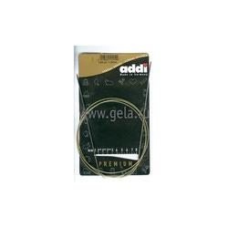 Спицы Addi Круговые супергладкие экстратонкие никелевые 1.5 мм / 120 см