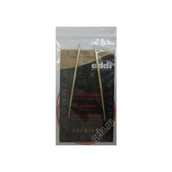 Спицы Addi Круговые с удлиненным кончиком позолоченные 3.75 мм / 100 см