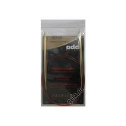 Спицы Addi Круговые с удлиненным кончиком позолоченные 5.5 мм / 100 см