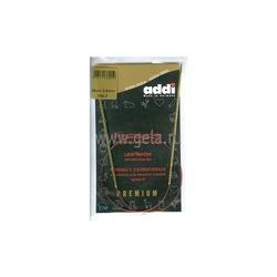 Спицы Addi Круговые с удлиненным кончиком позолоченные 2.5 мм / 60 см