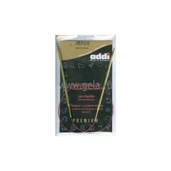 Спицы Addi Круговые с удлиненным кончиком позолоченные 3.5 мм / 60 см