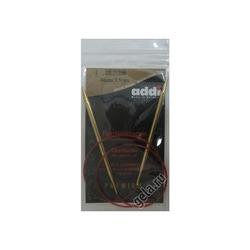 Спицы Addi Круговые с удлиненным кончиком позолоченные 5.5 мм / 80 см