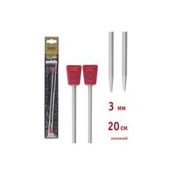 Спицы Addi Прямые алюминиевые 3 мм / 20 см