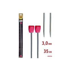 Спицы Addi Прямые никелевые 3 мм / 35 см