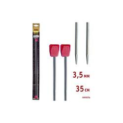 Спицы Addi Прямые никелевые 3.5 мм / 35 см