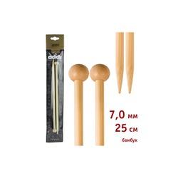 Спицы Addi Прямые бамбуковые 7 мм / 25 см