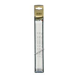Спицы Addi Чулочные алюминиевые 6 мм / 20 см