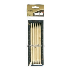 Спицы Addi Чулочные бамбуковые 10 мм / 20 см