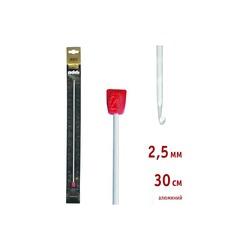 Крючок Addi Тунисский алюминиевый 2.5 мм / 30 см