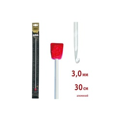 Крючок Addi Тунисский алюминиевый 3 мм / 30 см