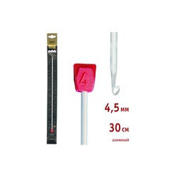 Крючок Addi Тунисский алюминиевый 4.5 мм / 30 см