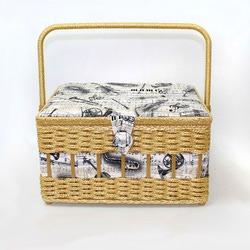 Аксессуары Hand Crafted Basket Шкатулка для рукоделия