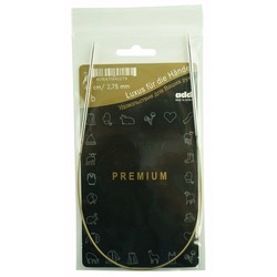 Спицы Addi Круговые супергладкие никелевые 2.75 мм / 40 см