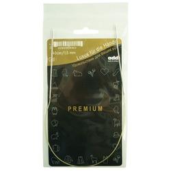 Спицы Addi Круговые супергладкие экстратонкие никелевые 1.5 мм / 40 см