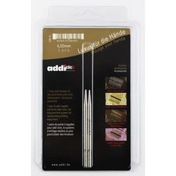 Аксессуары Addi Дополнительные спицы с удлиненным кончиком к addiClick LACE, никелированная латунь 4 мм