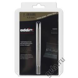 Аксессуары Addi Дополнительные спицы к addiClick, никелированная латунь 4.5 мм