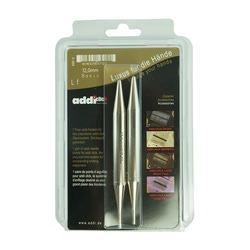 Аксессуары Addi Дополнительные спицы к addiClick, никелированная латунь 12 мм
