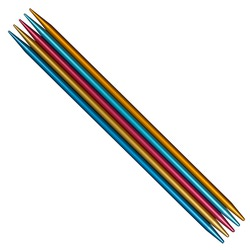 Спицы Addi Спицы чулочные сверхлегкие 5 шт. 8 мм / 23 см