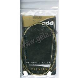 Спицы Addi Спицы с фиксаторами на лесках 4 мм / 50 см