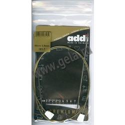 Спицы Addi Спицы с фиксаторами на лесках 2.5 мм / 50 см