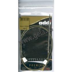 Спицы Addi Спицы с фиксаторами на лесках 3.5 мм / 50 см