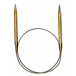 Спицы Addi Круговые из оливкового дерева 9 мм 150 см