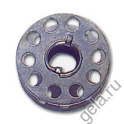 Аксессуары Hemline Шпульки без упаковки для швейных машин стандартные металлические, тип 15K