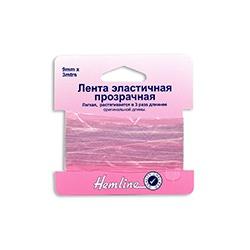 Аксессуары Hemline Прозрачная эластичная лента