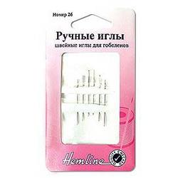 Иглы Hemline Иглы ручные для вышивания с закругленным кончиком №18