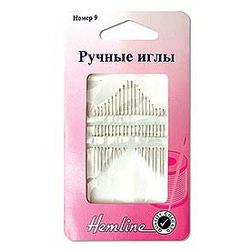 Иглы Hemline Иглы ручные с острым кончиком для шитья №9