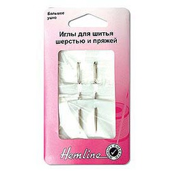 Иглы Hemline Иглы ручные для шитья шерстью и пряжей