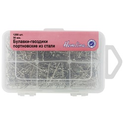 Аксессуары Hemline Булавки-гвоздики портновские из стали