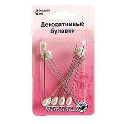 Аксессуары Hemline Булавки декоративные с жемчужными головками