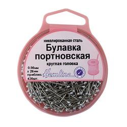 Аксессуары Hemline Булавки портновкие с круглой головкой