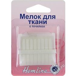 Аксессуары Hemline Мелок для ткани c точилкой в пластиковом корпусе