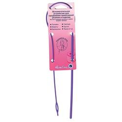 Аксессуары Hemline Устройство для продевания резинки в изделие (гнущаяся игла)
