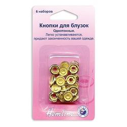 Аксессуары Hemline Кнопки для блузок ,11мм ,золото