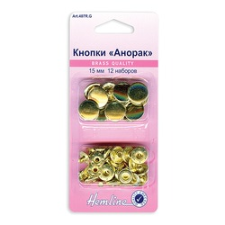 Аксессуары Hemline Набор кнопок Анорак, 15 мм