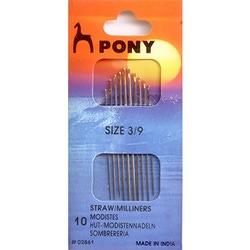 Иглы Pony Иглы для наметки № 3-9