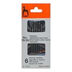 Иглы Pony Иглы для гобеленовых и трикотажных тканей № 18-26