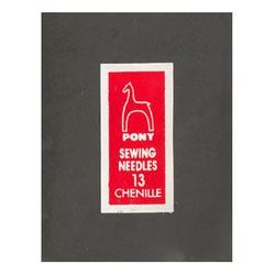 Pony Иглы для синели, глади № 13, 25 шт.