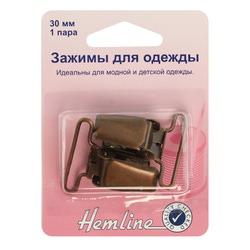 Аксессуары Hemline Эастежка для комбинезона, 30 мм, 2шт