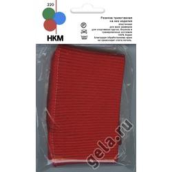 Аксессуары HKM Резинка трикотажная на низ изделия, цвет красный