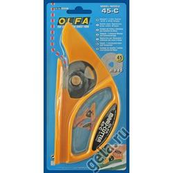 Аксессуары OLFA Нож дисковый 45-С ,для разрезания ковров и линолеумов,45 мм